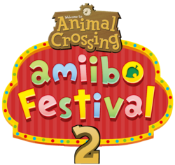Animal Crossing amiibo Festival 2 logo