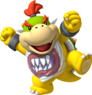 Bowser jr throwback