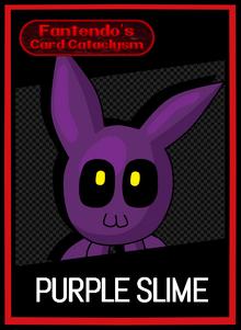 FCC Purple Slime Card