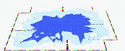 SMK Vanilla Lake 2 Lower-Screen Map