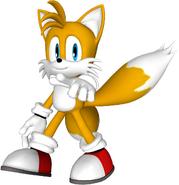 Tails render by detexki99-damz997