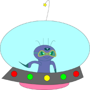 GalaxaInSpaceship