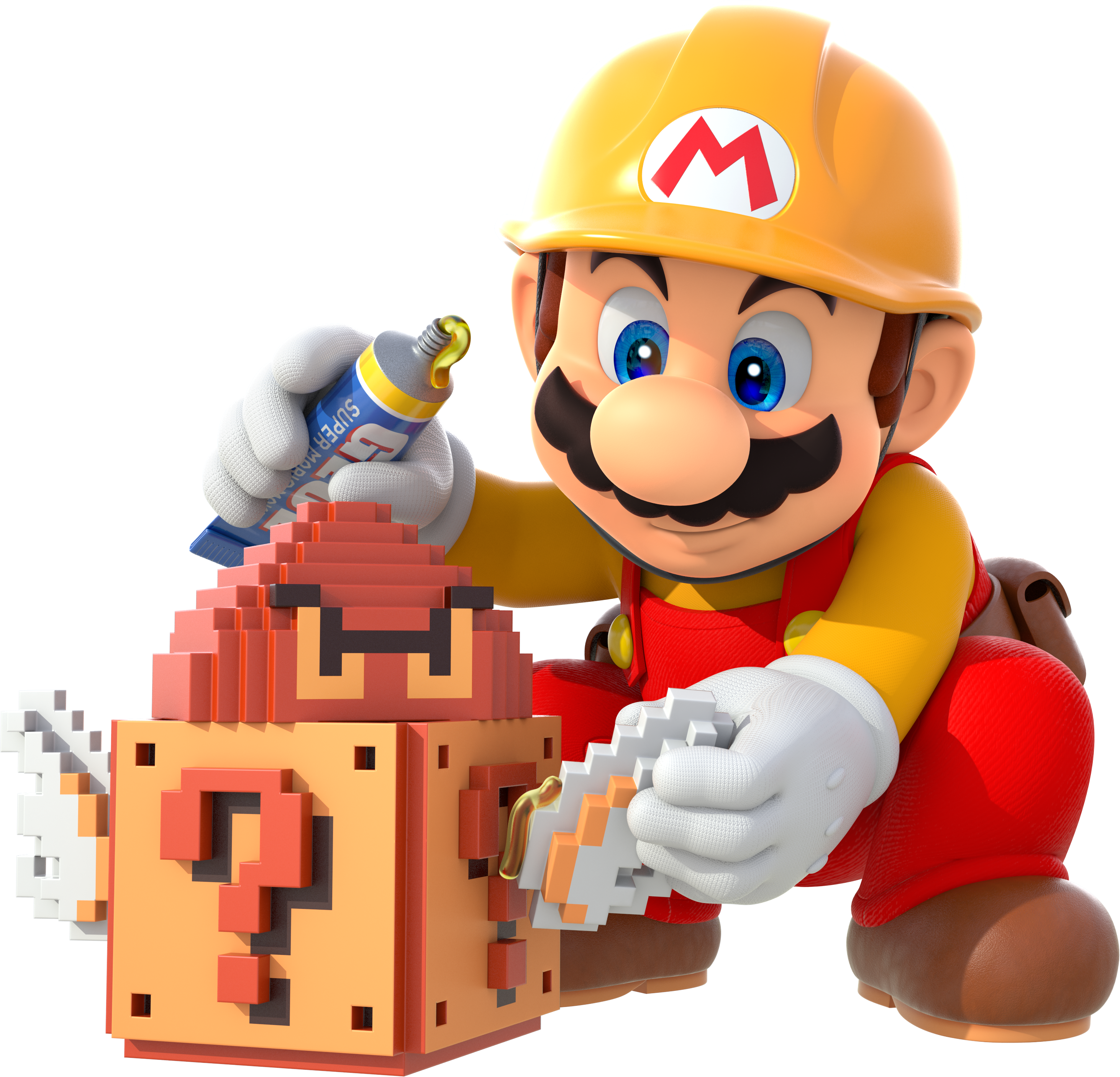 Super Mario Maker - Mario Artwork 01 v2