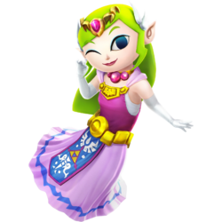 Toon Zelda (Hyrule Warriors)