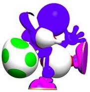 Purple Baby Yoshi