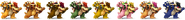 SSBRiot Bowser Color Palettes