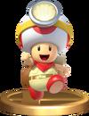 Smash Captain Toad Trophy SSBRiot