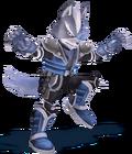Wolf render smash wii u 3ds style by machriderz-d8nym1k