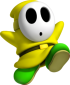 Yellow Shy Guy