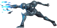 0.2.Dark Samus Aiming forward