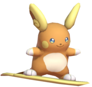 2.1.Alolan Raichu Floating