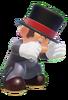 Black Tuxedo Mario 3