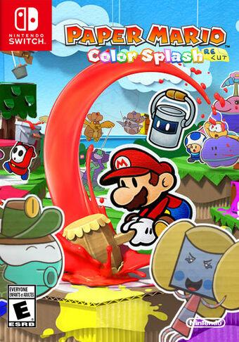 Paper Mario Color Splash Recut Fantendo Nintendo Fanon Wiki