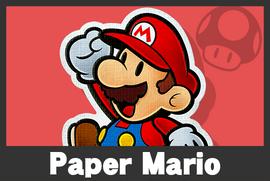 Paper Mario mugshoot
