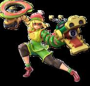 Smash Ultimate Min Min alt 5