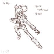 Noora Natsumi pas