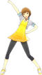 P4D Chie Satonaka Summer Vacation Clothes (Limited Edition Included - DLC) change