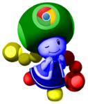 Google Chrome Toadette