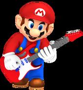 Mario playing electric guitar by nintega dario db9j0r2-pre