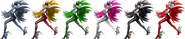 SSBRiot Bayonetta Color Palettes
