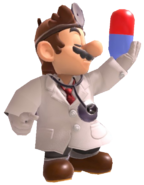 5.7.Dr. Mario showing a pill