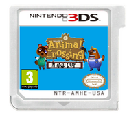 Animal Crossing In and Out game cartridge - 3DS