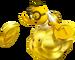 Golden Lakitu Artwork - New Super Mario Bros. 2