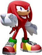 Team Sonic Racing Knuckles No Car