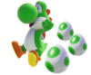 Yoshi from SMO with eggs