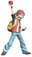 0.5.Pokemon Trainer Red Posing