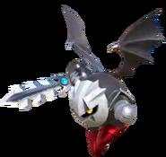 3.7.Dark Meta Knight flying