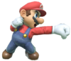 6.Mario Throwing a Punch
