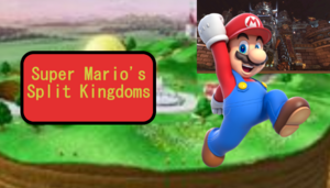 Super Mario's Split Kingdoms Logo