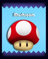 Super Mario & the Ludu Tree - Powerup Mushroom