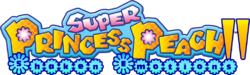 Super Princess Peach II Logo