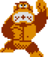 Donkey Kong Artwork - NES Remix