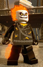 Ghost Rider (Johnny Blaze) (Lego Batman 4)