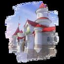 JSSB stage preview icon - Princess Peach's Castle
