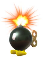 3.4.Bob-Omb standing while being lit up