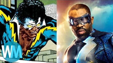 Comic Book Origins Black Lightning