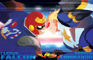 Facing off captain vs captain by thechamba