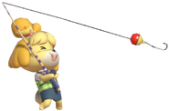 0.12.Isabelle reeling back her Fishing Rod