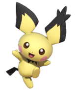 3.3.Spiky Eared Pichu Cheering