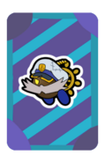 Admiral Bobbery Partner Card