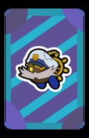 Admiral Bobbery Partner Card
