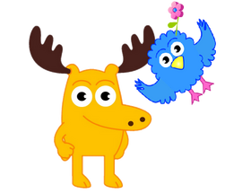 Moose A Moose and Zee transparent