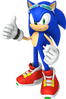 Sonic riders pose