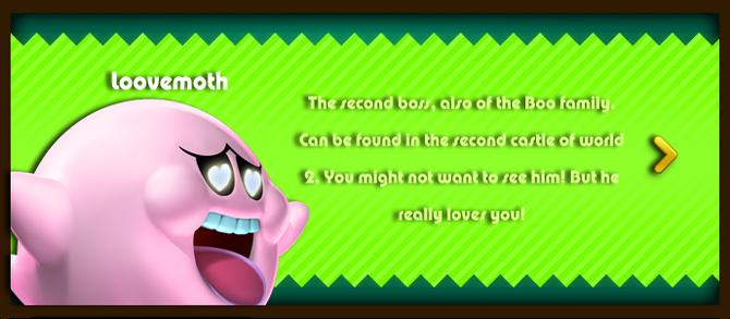 Super Mario & the Ludu Tree - Character Loovemoth