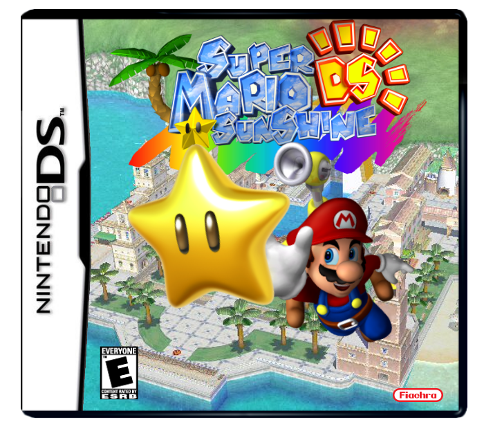 Super Mario Sunshine Ds Enigima Version Fantendo Nintendo