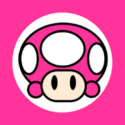 Toadette kart flag by rafaelmartins-d4qf2f5